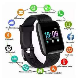 Reloj inteligente smart watch ritmo cardíaco 116 plus para android o iOS