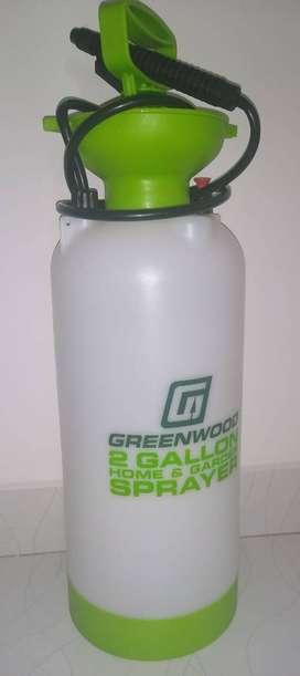 Aspersor manual de 8 litros