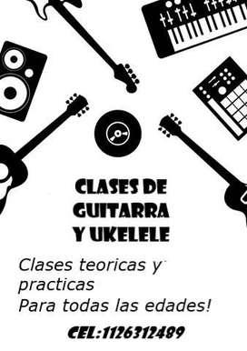 Clases particulares de guitarra en Lanús
