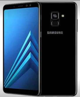 Samsung A8plus Negro 2018