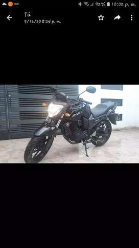 Yamaha fz 16 año 2013 totalmente nueva con 450 km