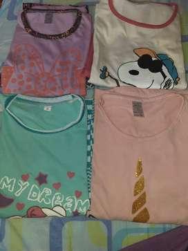 Blusas licras  maternas y pijamas