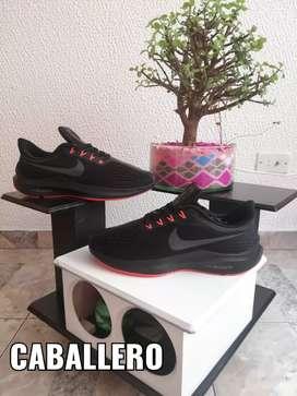 """QUÉDATE EN CASA NOSOTROS TE LOS LLEVAMOS""""Tenis Nike zoom caballero"""