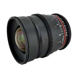 Lente de cine Rokinon 24mm T1.5 Micro 4/3 (MFT)
