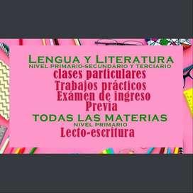 TRABAJOS PRÁCTICOS Y CLASES PARTICULARES