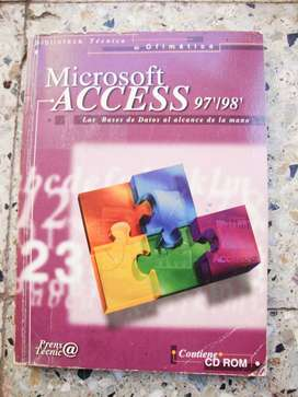 Access 97/98 Bases de datos (incl. CD)