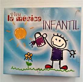 Coleccion De 3 Cd Musica Infantil Mas De 60 Temas