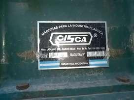 Maquina plastico industrial