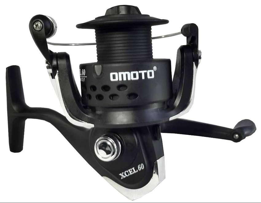 Carrete Pesca Omoto Reels 5 Balineras Agua Dulce Xcel 60 20 lb 0
