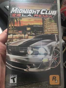 Midnight club psp