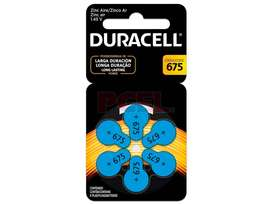 Pila Duracell 675