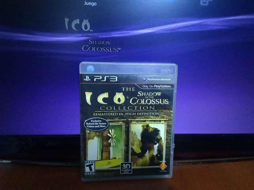 ICO y Shadow of the colossus play 3