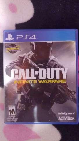 Vendo call of duty infinity warfare nuevo.