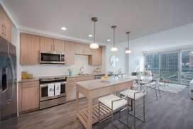 Carpintería moderna: Cocinas integrales, clósets, muebles de baño, centros de entretenimiento, mesones tipo americano