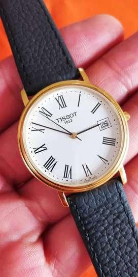 Reloj Tissot 1853, cristal zafiro, SwissMade Quartz