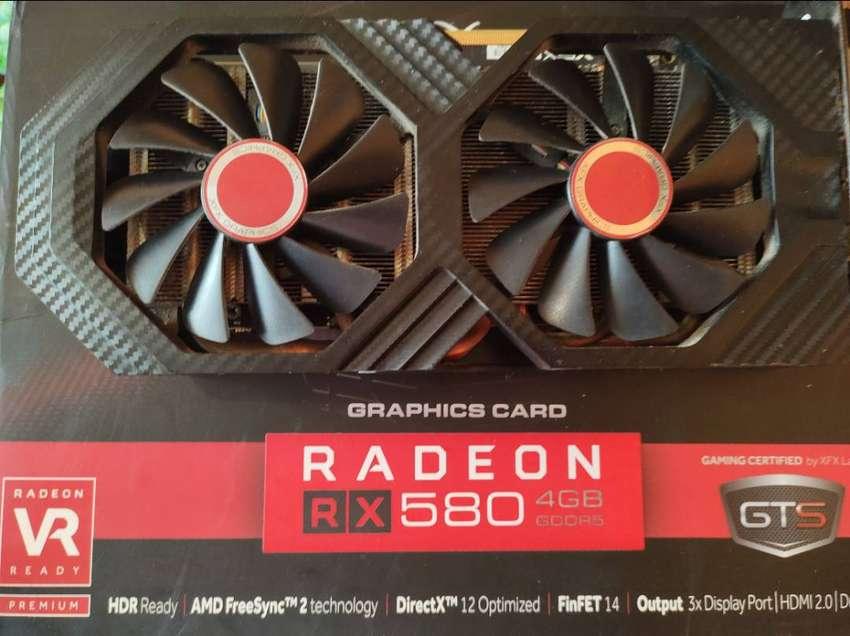 Xfx Rx 580 4gb como nueva