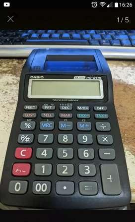 Vendo calculadora con impresora casio