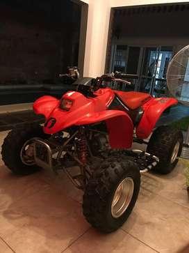 VENDO HONDA TRX 250ex. Mod 2002, rodado 2004
