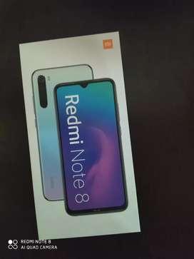 Vendo o cambio Xiaomi Redmi note 8 de caja