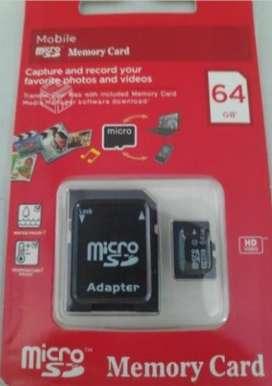 Vendo tarjetas de memoria micro SD de 64 GB