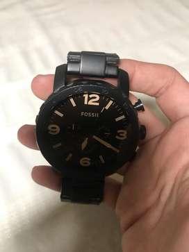 Reloj Fossil Negro Hombre