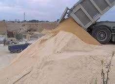 Arena 6 m ³ a granel . Directo de la arenera! Materiales para la construccion.