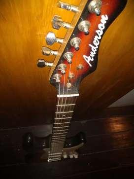 Kit Guitarra Electrica Anderson + Amplificador Decoud Rock Rs-26