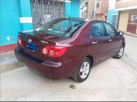 Se vende Toyota Corolla full año 2006
