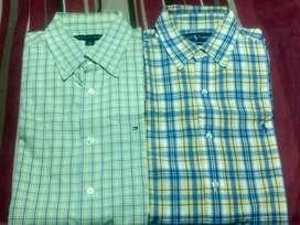 Camisas originales Tomy  una y otra polo talla m como nuevas