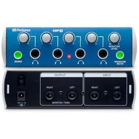 Amplificador Presonus HP4 audifonos 4Ch