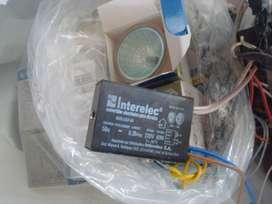 Dicroicas 50w (15), transformadores electronicos