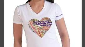 Camiseta para sublimación