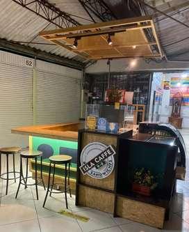 Vendo muebles para negocio de cafetería o restaurante