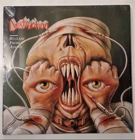 Destruction Release From Agony Lp U.s Profile Records 1988