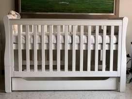 Cama cuna de 3 posiciones (Marca: Mothercare)