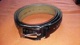 Cinturon De Hombre. Muy Fino, De Vestir. Cinto Negro.