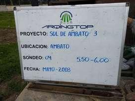 ESTUDIOS GEOTECNICOS DE SUELOS Y TOPOGRAFIA GEOREFERENCIADA GPS