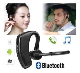 Audífono Bluetooth Manos Libres 8 Horas Funcionamiento En Llamadas
