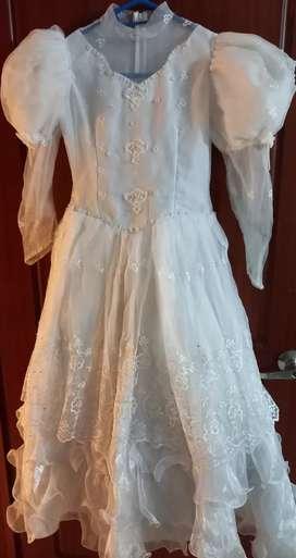 Vestido 1ra comunión 10-12años