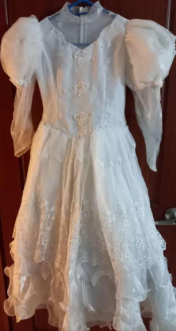 Vestido 1ra comunión 10-12años 0