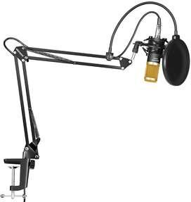 Kit Micrófono Condensador Stand Estudio Gold Neewer Nw-800