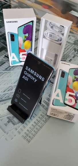 Samsung A51 Prisma Azul 128 Gbytes Garantía