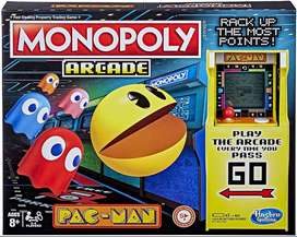 Monopoly Pac-man Hasbro Original Inglés