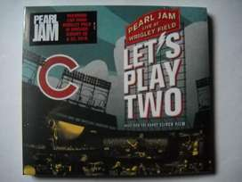 pearl jam let's play two live at wrigley cd sellado