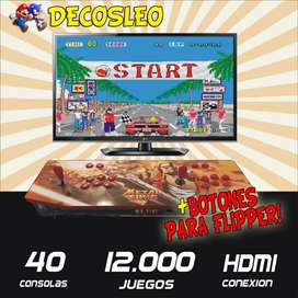 Arcade RETROBOX METALSLUNG CON FLIPPER GRATIS