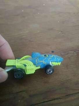 Hot wheels carrito shark car 1990