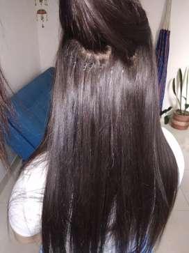 Extensiones cabello humano punto microline