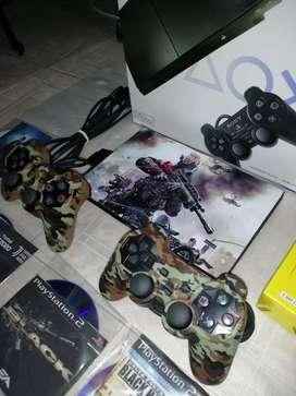 VENDO PS2 SLIM COMPLETOS EN CAJA
