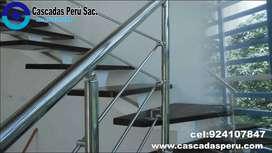 pasamanos en terrazas,barandas de acero,pasamanos y barandas,barandales,barandales para escaleras