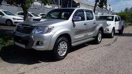 Toyota Hilux SRV c/cuero 4x2 2013